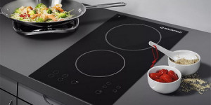 Вбудовувані кухонні електричні плити і незалежні духовки