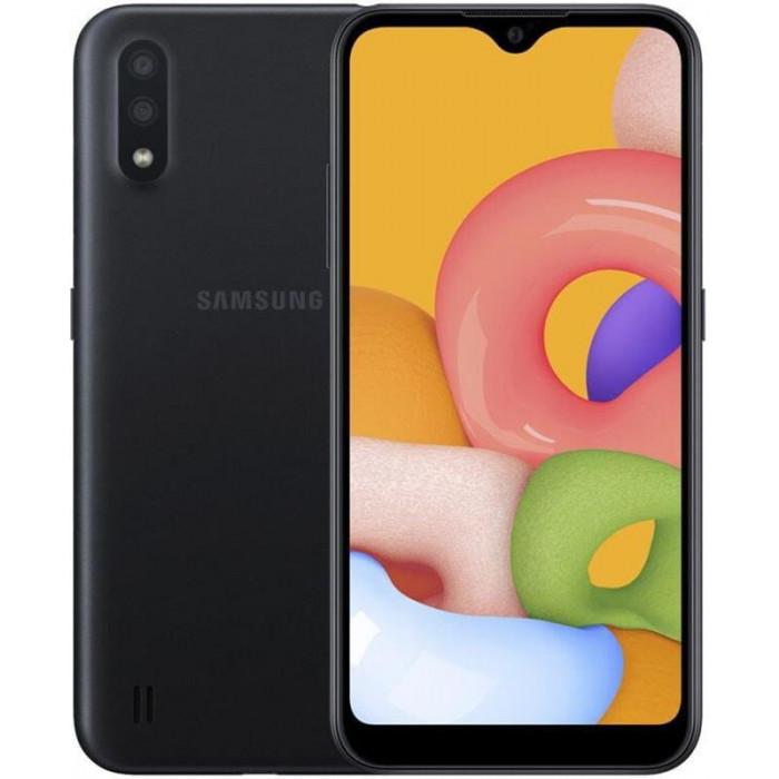 Samsung Galaxy A02 SM-A022 2/32GB Dual Sim Black (SM-A022GZKBSEK)