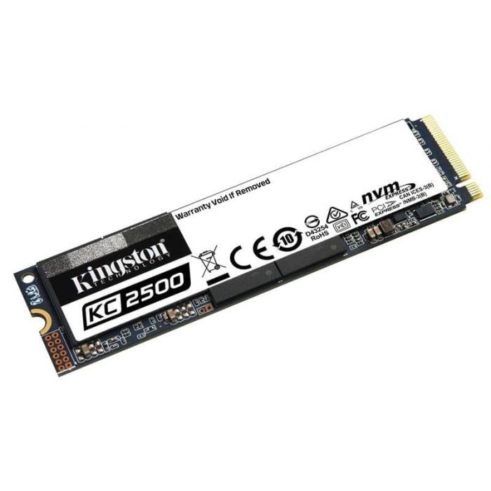 SSD 500GB M.2 NVMe Kingston KC2500 M.2 2280 PCIe Gen3.0 x4 3D TLC (SKC2500M8/500G)