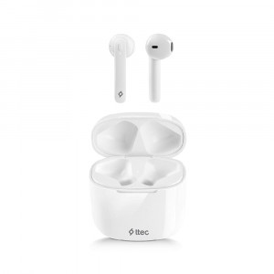 Bluetooth-гарнітура Ttec AirBeat LiteTrue Wireless Headsets White (2KM129B)