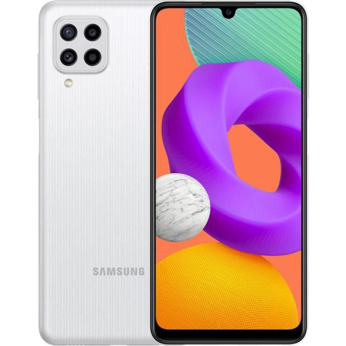 Samsung Galaxy M22 SM-M225 4/128Gb Dual Sim White (SM-M225FZWGSEK)