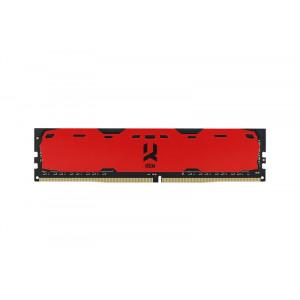 DDR4 4GB/2400 GOODRAM Iridium Red (IR-R2400D464L15S/4G)